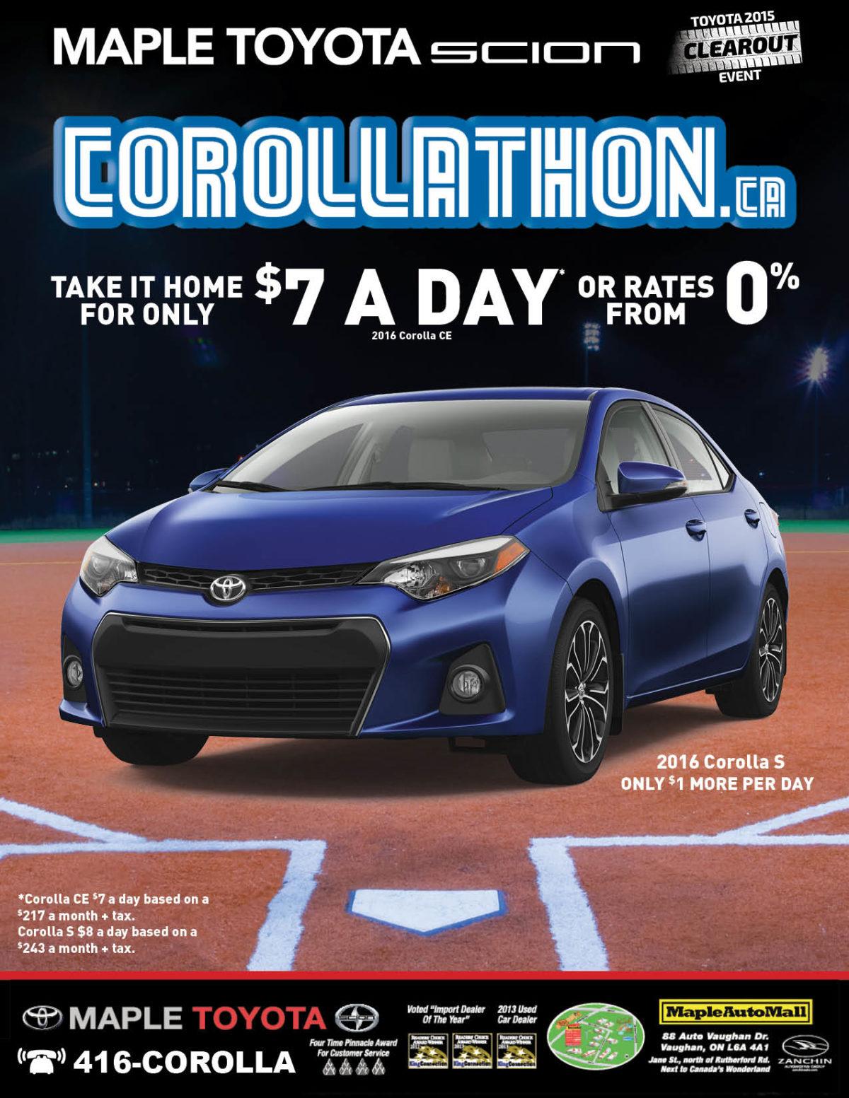 Maple Toyota - Baseball Ad - V5