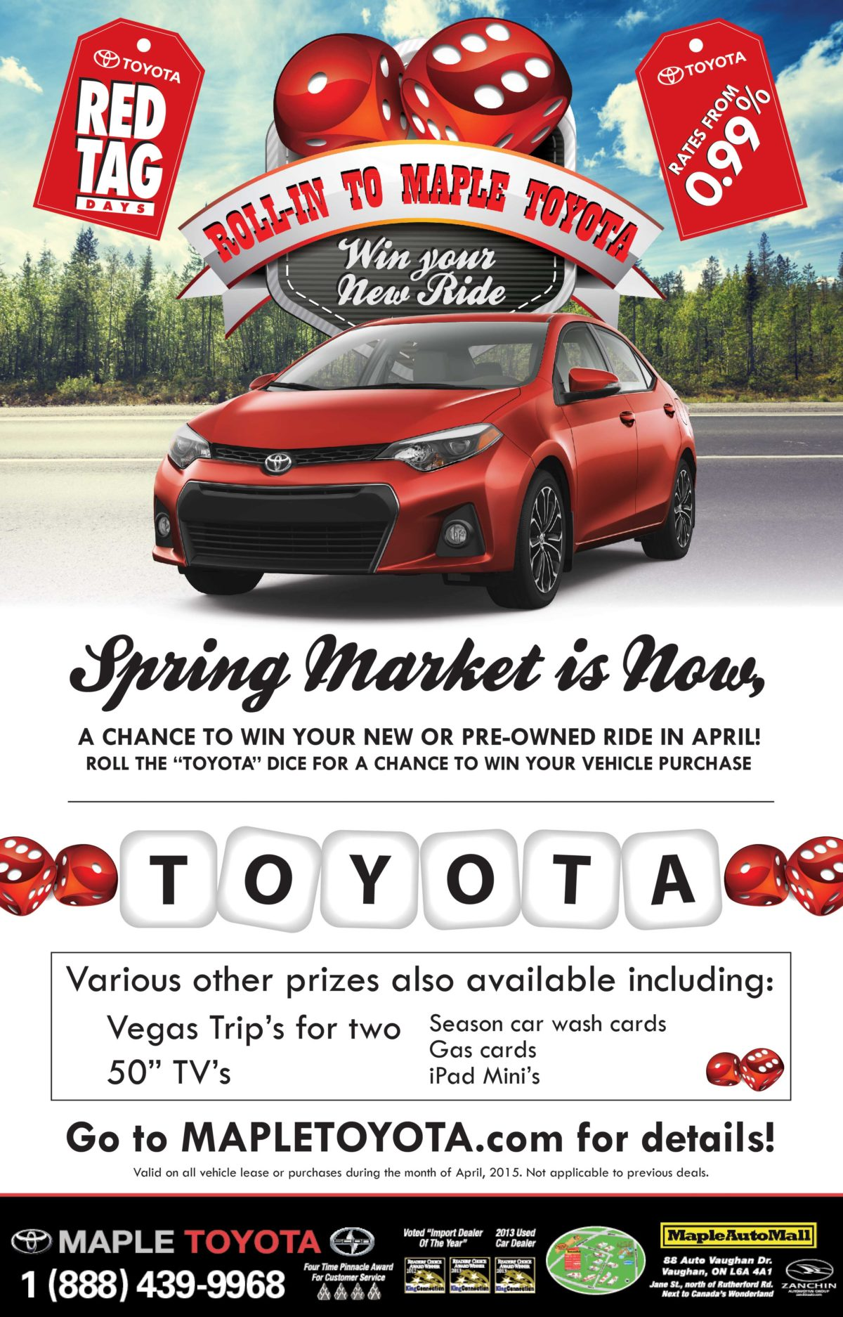 Maple Toyota Roll-In to Ad3