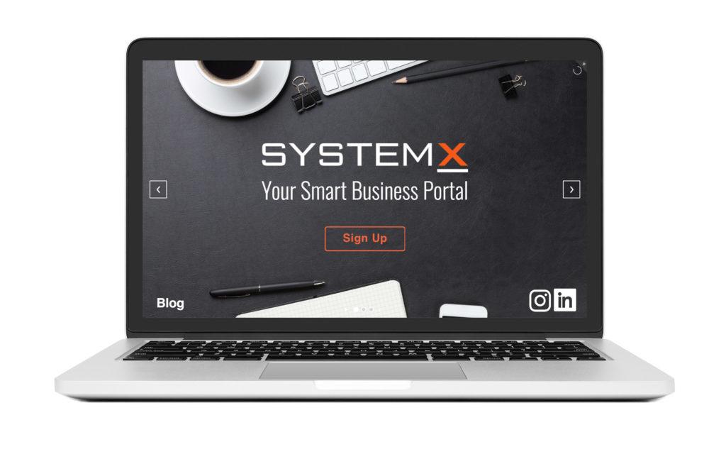SystemX - Web Portfolio